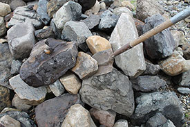 Blackburn Excavating Ltd in Salmon Arm, BC, offers a variety of gravel.