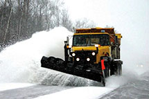 Stuck in a snow bank?  Contracting with Blackburn Excavating Ltd helps avoid those kinds of scenarios!